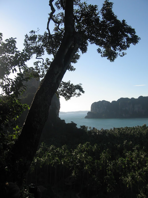 The view point at Railay Beach