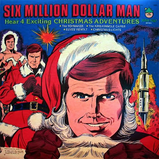 funny cool album covers siz million dollar man christmas adventures