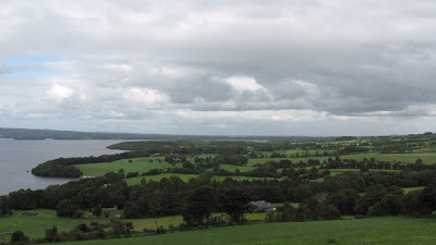 ireland photos fields of tipperary on the edge of lough derg