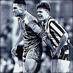 Vinnie Jones and Gazza