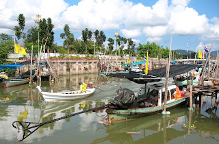 Fishing boats at Sapan Hin