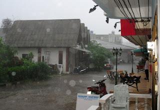Rain, Karon Plaza, 25th June