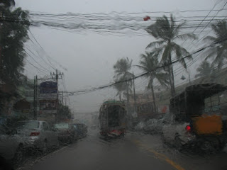 Rain in Patong, 29th August