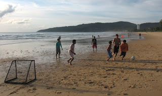 Beach Football, Karon 21st July
