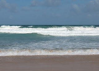 Close up of waves at Karon Beach, 7th August