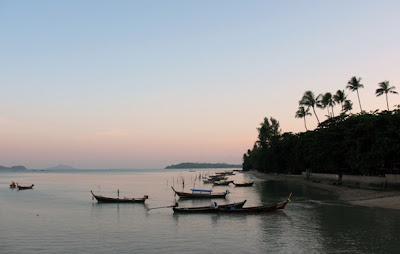 Chalong Bay, Phuket. 14th August 2008.