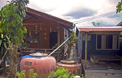 Houses near Laem Hin Seafood