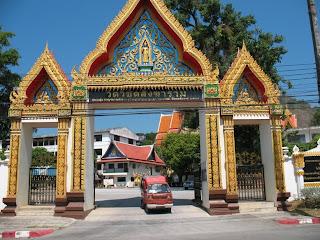 Wat Vichit Sangkaram entrance
