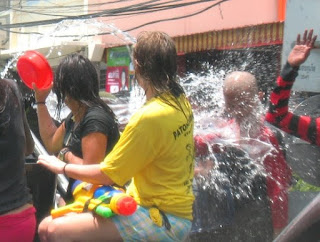 Another splash for Songkran