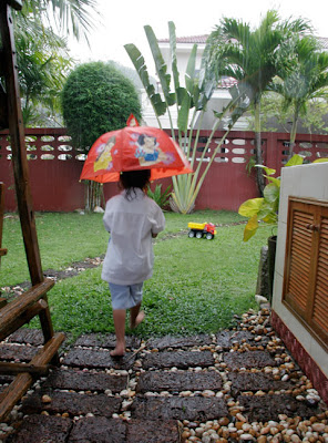 13th April - a bit of rain before the Songkran fun