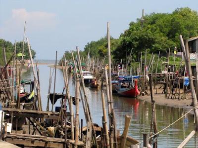 Boats at Sapan Hin, 19th September
