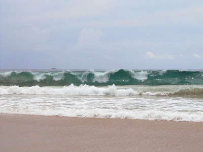 Waves at Nai Harn Beach 20th September