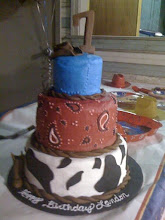 Landon's 7th Birthday cake