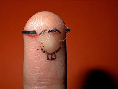 Funny Fingers - Geek