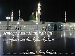 Marhaban ya Ramadhan,