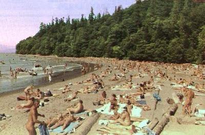 naked beach