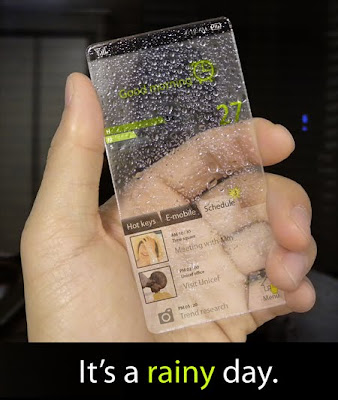 Transparent Windows phone