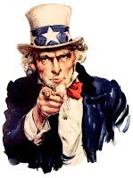 Uncle Sam apuntando con el dedo