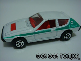 Playart Lotus Elite, Scale: Unknown But Should Be Around 1/60