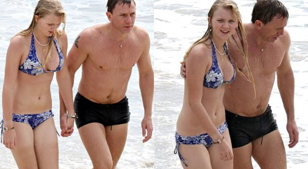Daniel Craig Daughter Daniel Craig And His Daughter