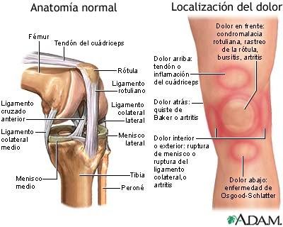 Rendirse Jamas: Lesiones de rodilla