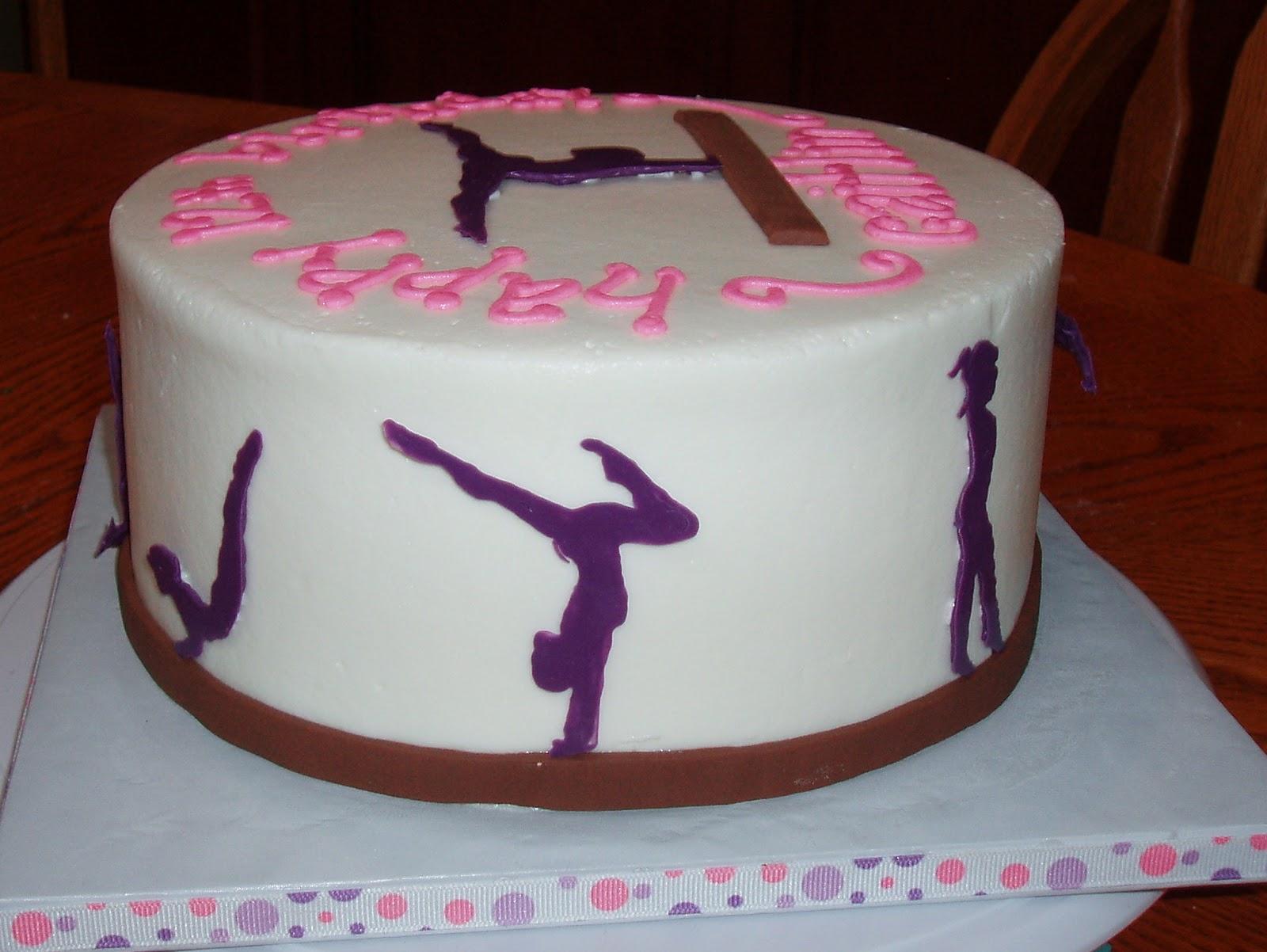 Cake Believe: Gymnastics Girl