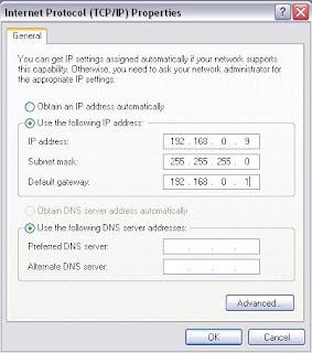 Membagi Koneksi Internet Menggunakan Wifi Laptop  12