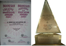 "Bakso Malang Kota ""Cak Eko"" Menerima Indonesian Creative & Inovative Award 2007"