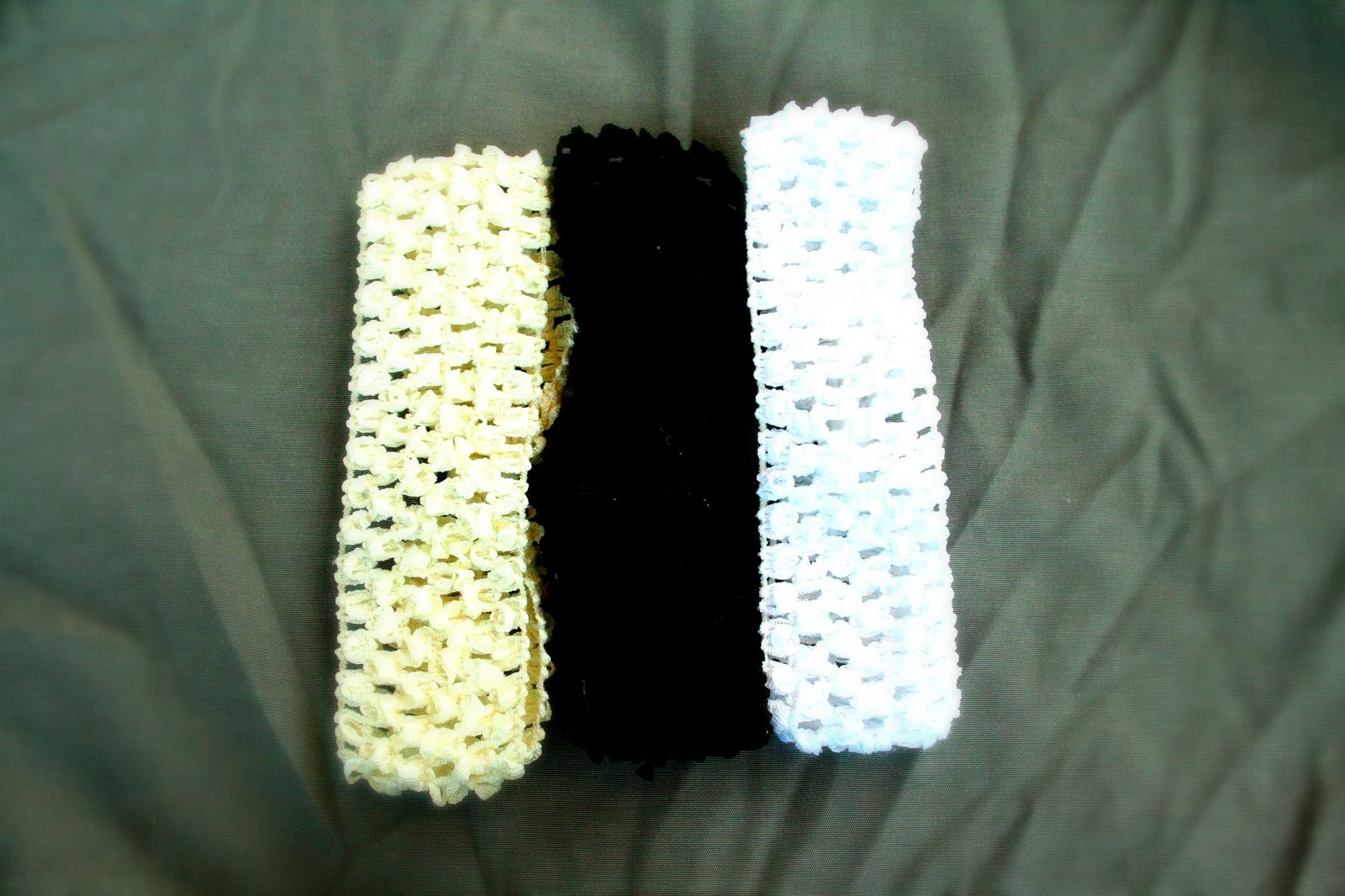 ...CROCHETED HEADBANDS...