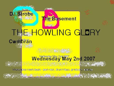 The Howling Glory - where guitar noise and electro collide