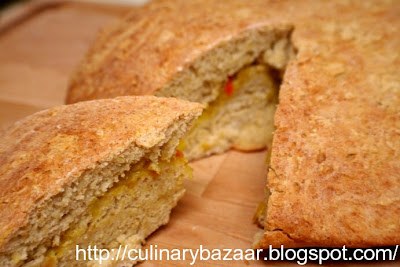 Stuffed Millet Bread