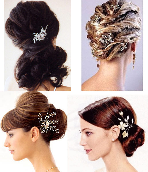 short wedding hairstyles gallery