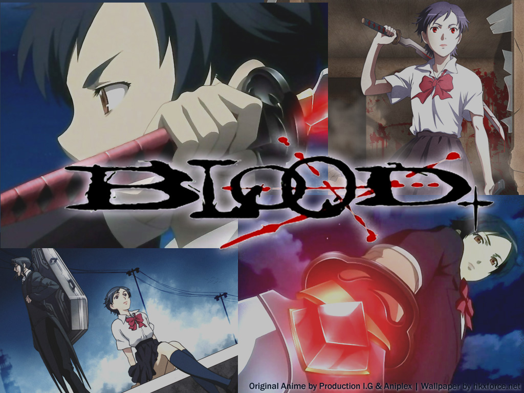 thriftynursewife  Blood Wallpaper Anime
