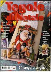 Tegole di Natale Ed. Cigra 2003-Casa Pratica