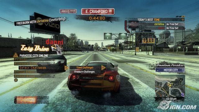 Burnout Paradise Best Stunt Car