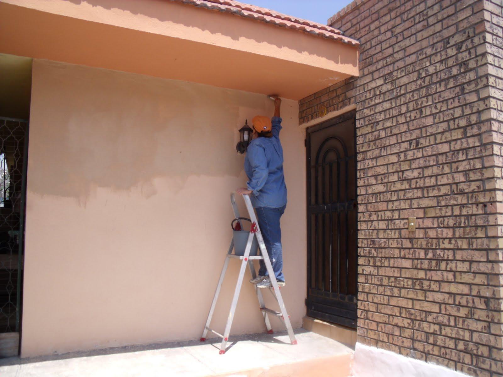 Tinisimo blogger mujeres trabajando - Como pintar la fachada de mi casa ...