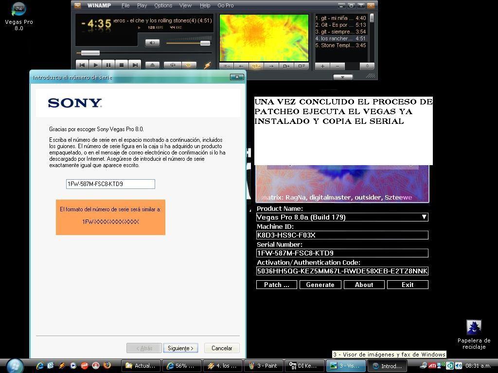 Crack y keygen sony vegas pro 11 32 bit xp