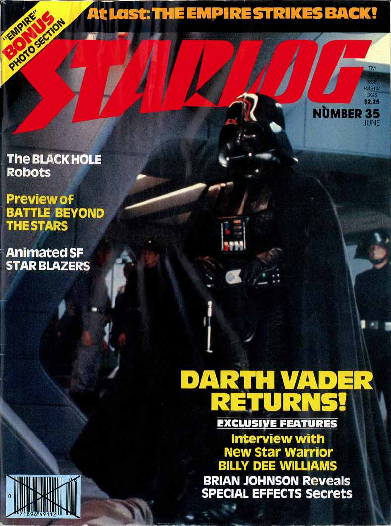 WEIMAR WORLD SERVICE The Starlog Project Starlog 35