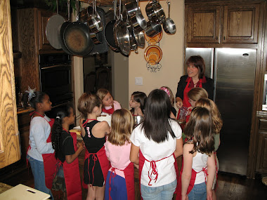 Children's In-Home Cooking Class