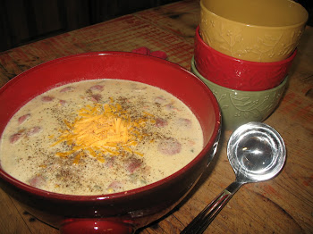 Corn Chowder: Perfect Meal on a Cold, Rainy Evening!