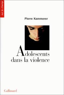 livre pierre kammerer adolescents dans la violence