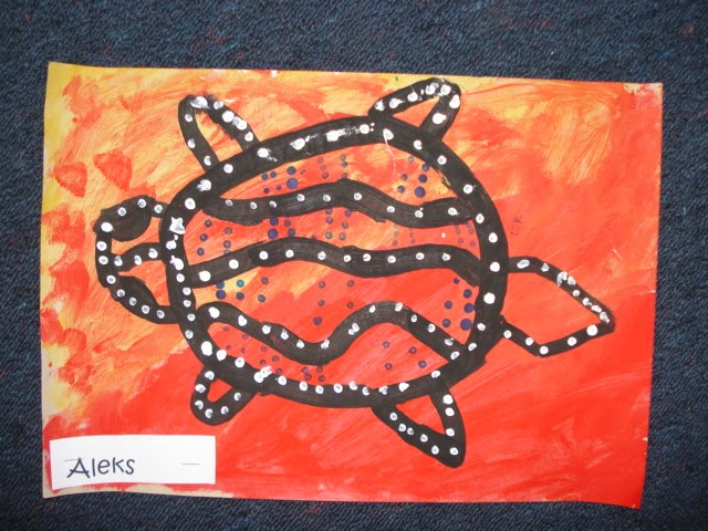 aboriginal art animals. D: Try a different animal.