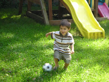 Our Little Soccer Player