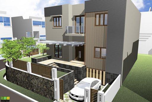 desain rumah minimalis 3 lantai rumah minimalis pada area hook