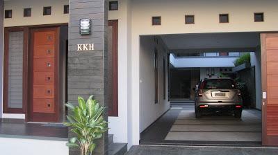 gambar rumah depan on Tampak depan rumah, Jl Alamanda KKH (Kav Khusus-H)