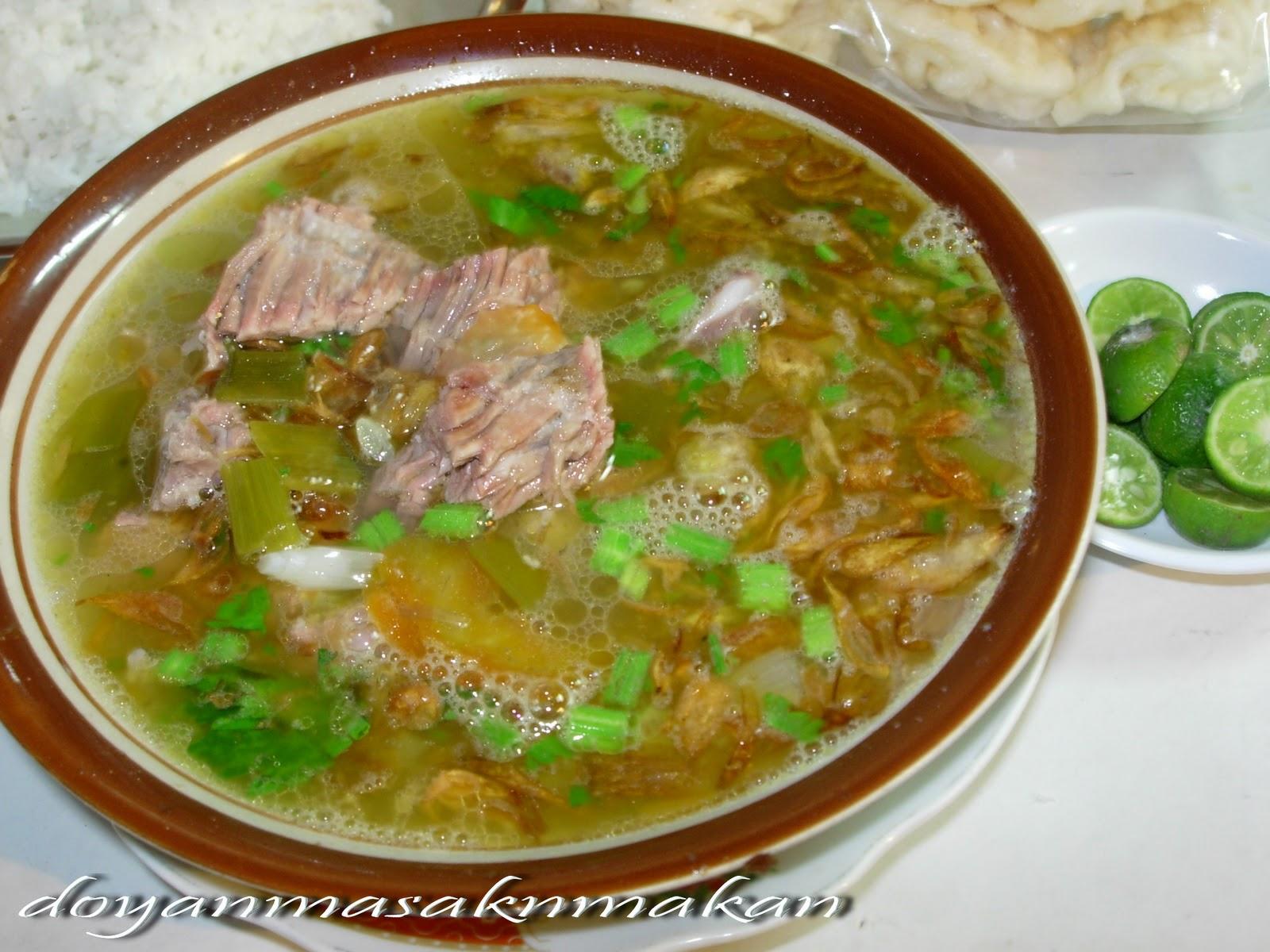 Resep Masakan Indonesia - Sop Buntut