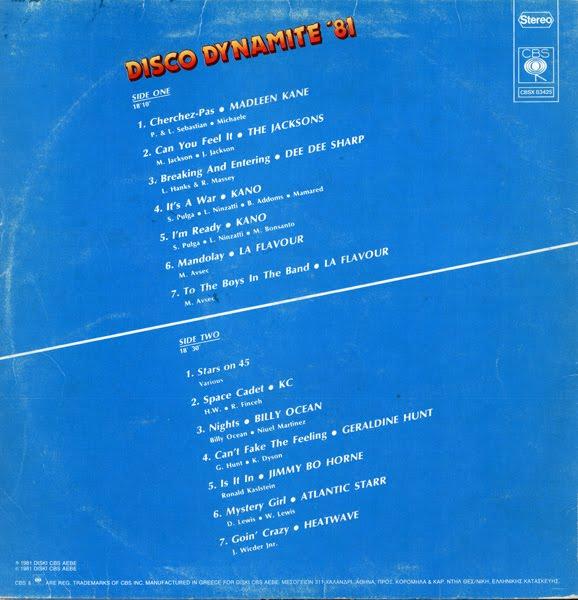 Various Disco Dynamite 81