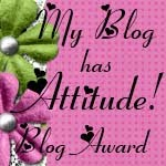 My first blog award 1/26/11