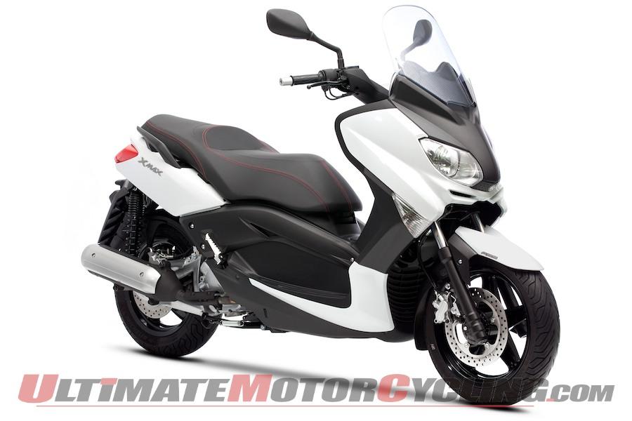 Laquisto Motors 2011 Yamaha Scooters Euro Previews