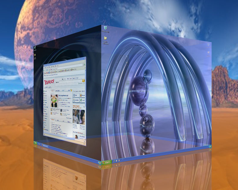Deskspace+Free+Download+Retail+Version+Images+Pc++Tricks+Softwares এক ডেস্কটপেই ৬ ডেস্কটপের কাজ করুন! 3D ডেস্কটপ এখন আপনার হাতের নাগালেই!! | Techtunes